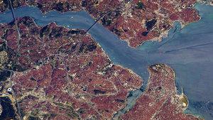 Uzaydan çekilen Türkiye'nin yeni görüntüleri paylaşıldı