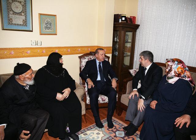 Cumhurbaşkanı Recep Tayyip Erdoğan'dan anlamlı ziyaret