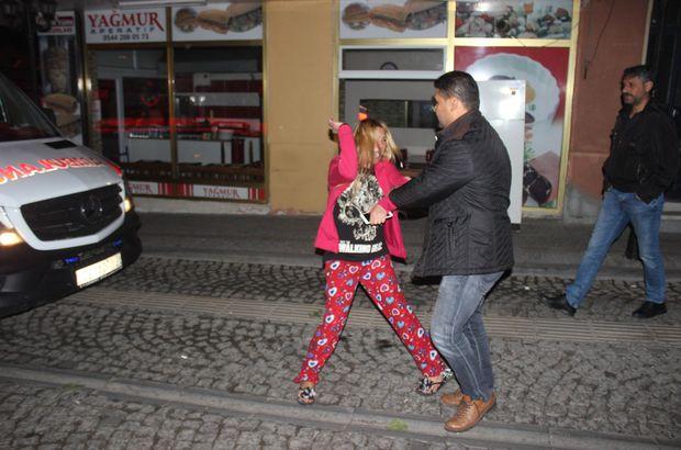 Aydın'da bunalıma giren genç kadın mahalleyi ayağa kaldırdı
