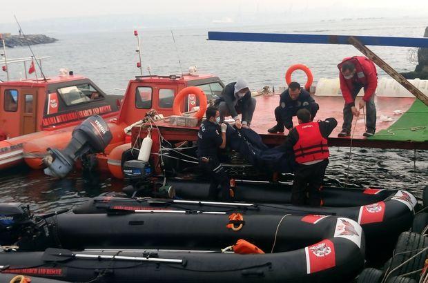 Zeytinburnu'nda denizden erkek cesedi çıktı