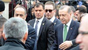 Erdoğan Fatma Fitnat Hanım Camisi'ni açtı