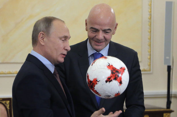 Gianni Infantino Vladimir Putin