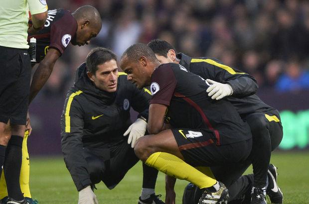 Vincent Kompany'den Manchester City'e kötü haber!