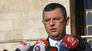 CHP Grup Başkanvekili Özel: Türkiye'nin Avrupa Birliği hedefinden uzaklaşmasını doğru bulmuyoruz