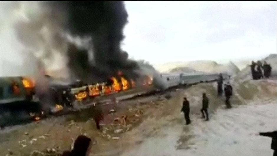iran tren kazası