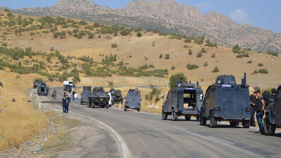 Diyarbakır Lice PKK Sokağa çıkma yasağı
