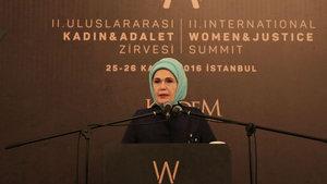 Emine Erdoğan: Kızlarımızın yeri yalnızca ve yalnızca okuldur