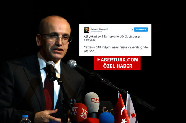 Mehmet Şimşek twitter AP kararı