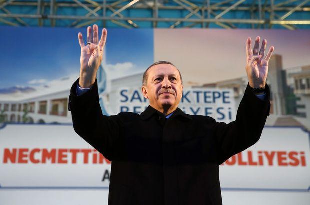 Cumhurbaşkanı Erdoğan toplu açılış töreninde konuşuyor