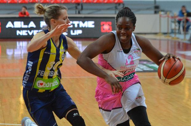 Bellona AGÜ: 58 - Fenerbahçe: 73