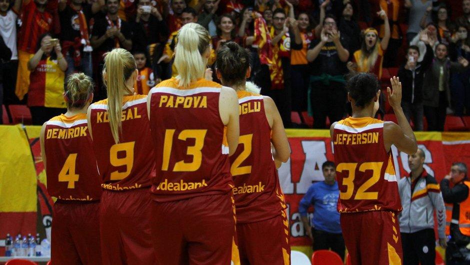 Yakın Doğu Üniversitesi: 72 - Galatasaray: 64