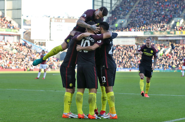 Burnley: 1 - Manchester City: 2