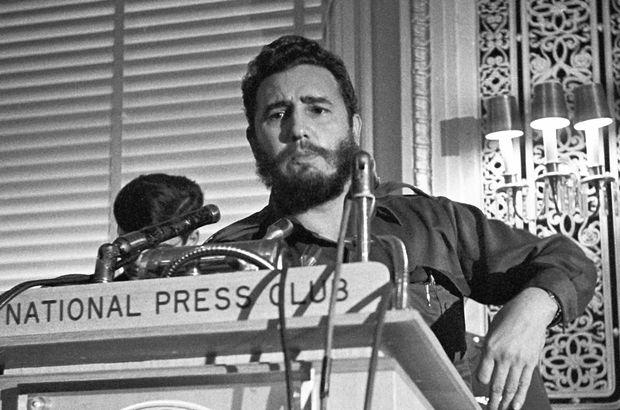 Küba Fidel Castro