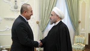Mevlüt Çavuşoğlu İran'da