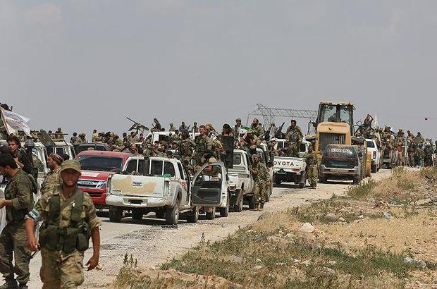 ÖSO PYD/PKK Münbiç Fırat kalkanı