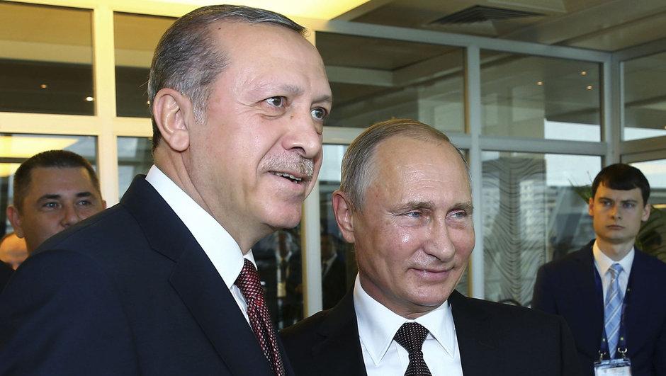 Recep Tayyip Erdoğan Vladimir Putin