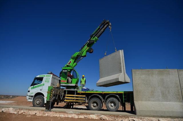 """""""Türk Seddi""""nin inşası sürüyor"""