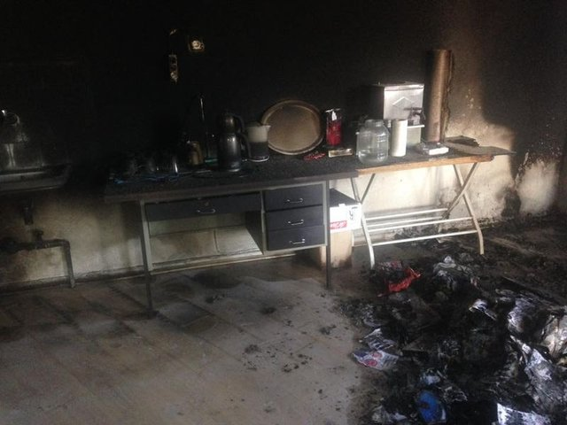 CHP binasını kundaklayan kişi yakalandı