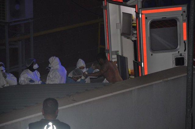 9 ÖSO'lu Gaziantep'te tedaviye alındı