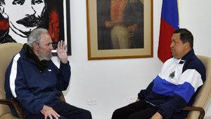 Venezuela'dan Fidel Castro onuruna anma töreni