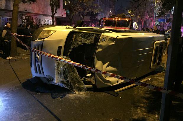 Otomobil servis minibüsüyle çarpıştı: 1'i ağır 6 yaralı