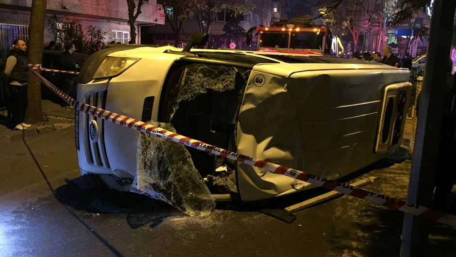 İstanbul Bayrampaşa kaza