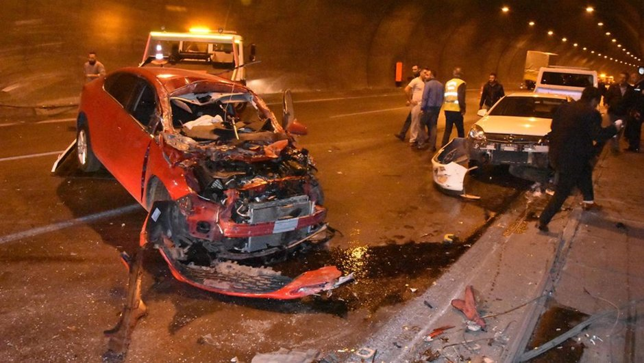 İzmir  zincirleme trafik kazası
