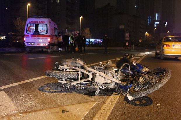 İstanbul motosiklet kazası