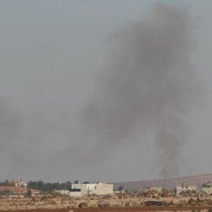 Fırat Kalkanı'nda DEAŞ hedefleri vuruldu