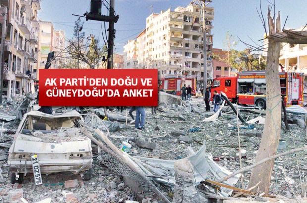 terör Doğu ve Güneydoğu AK Parti Operasyonu