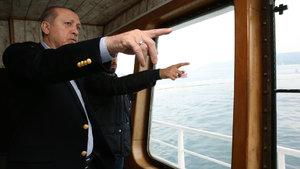 Cumhurbaşkanı Erdoğan, balıkçılarla ava çıktı