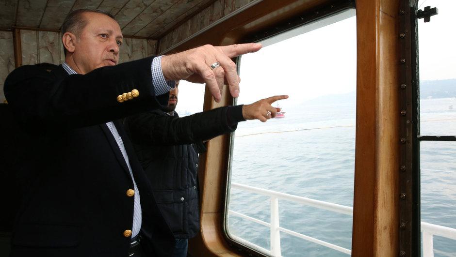 """Erdoğan ava çıktı! """"Az balık yiyoruz"""""""