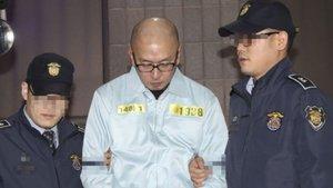 Güney Kore'deki Choi skandalında Chan Eun-taek gözaltına alındı