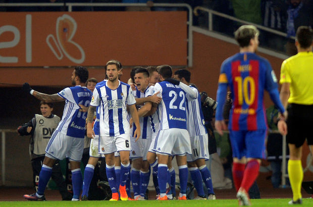 Real Sociedad: 1 - Barcelona: 1