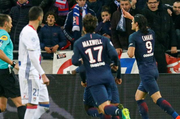 Lyon: 1 - Paris Saint-Germain: 2