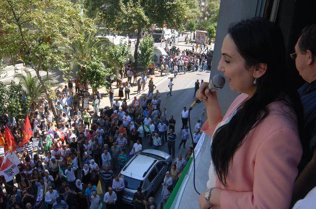 """Yüksekdağ'a İzmir'de """"örgüt propagandası"""" davası"""