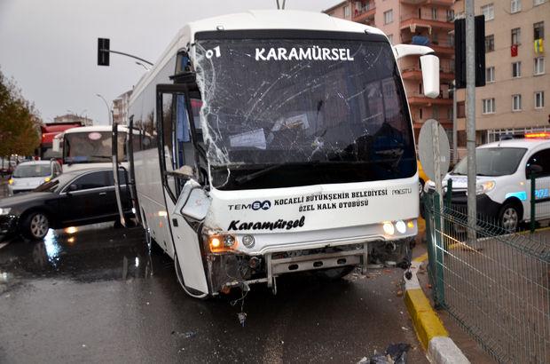 Kocaeli'de trafik kazası meydana geldi
