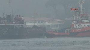 İstanbul Boğazı'nda tanker, rotasından çıktı