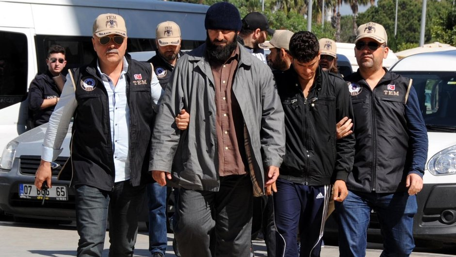 Antalya DEAŞ 4 tahliye
