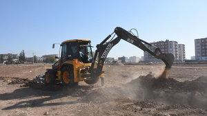 Nusaybin Belediyesi 4 yeni park kuruyor
