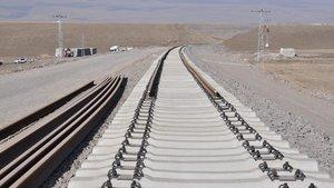 Afganistan'ı Avrupa'ya bağlayacak demiryolu hattı açıldı