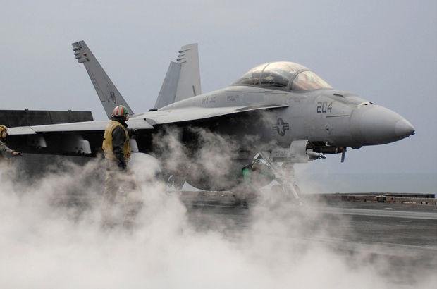 Kuveyt ABD uçak Boeing F/A-18 Süper Hornet