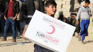 Türk Kızılayı'ndan Musul halkına insani yardım