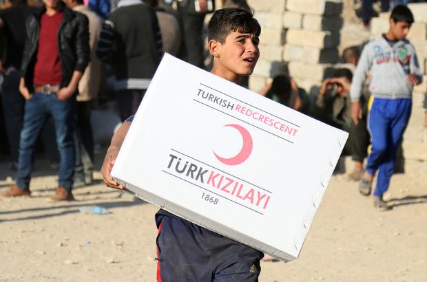 Türk Kızılayı Musul insani yardım