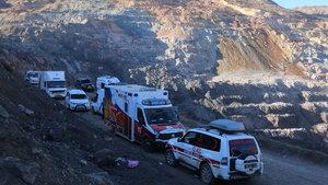 Siirt'te 4 işçiyi arama çalışmaları devam ediyor