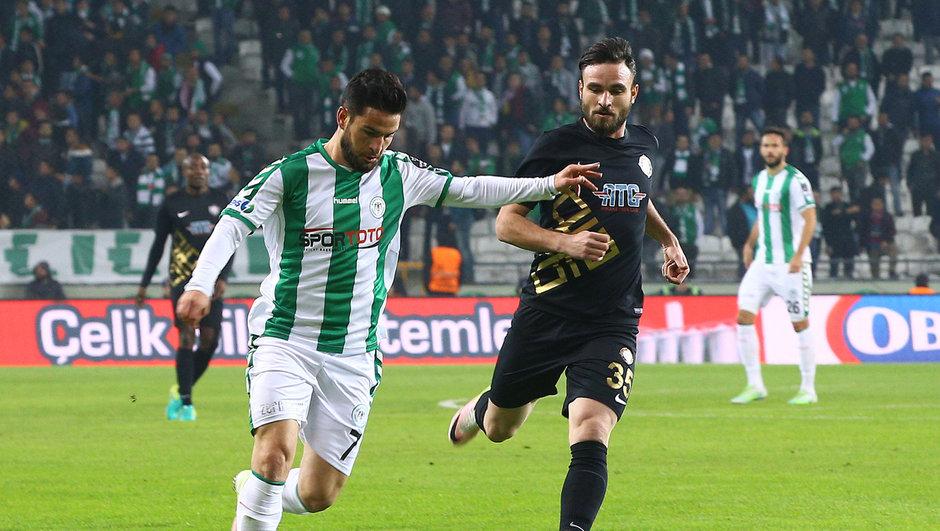 Atiker Konyaspor: 1 - Osmanlıspor: 1