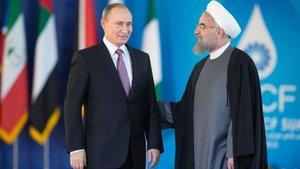 Putin ve Ruhani telefonda görüştü