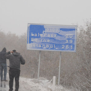 Kar İstanbul'a yaklaştı!
