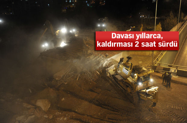 Ankara gecekondu Malazgirt Bulvarı