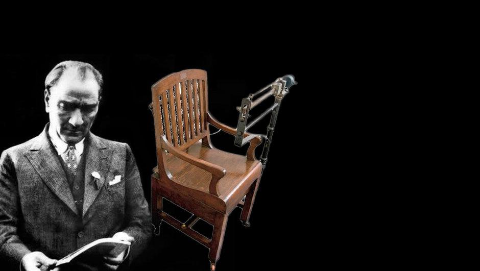 Atatürk'ün tartı koltuğu! Bir tarih gün yüzüne çıktı